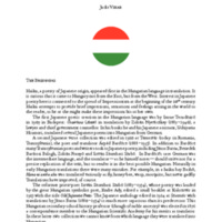 A History of Hungarian Haiku in English [PDF]