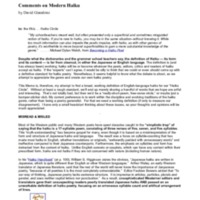 Diglibbiblio-Comments on Modern Haiku by David Giacalone.pdf