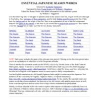 Diglibbiblio-The Five Hundred Essential Japanese Season Words by William Higginson.pdf