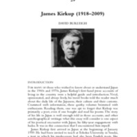 James Kirkup (1918–2009)