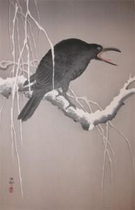 koson_crow_snow