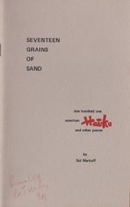 markoff_seventeengrainsofsandcover