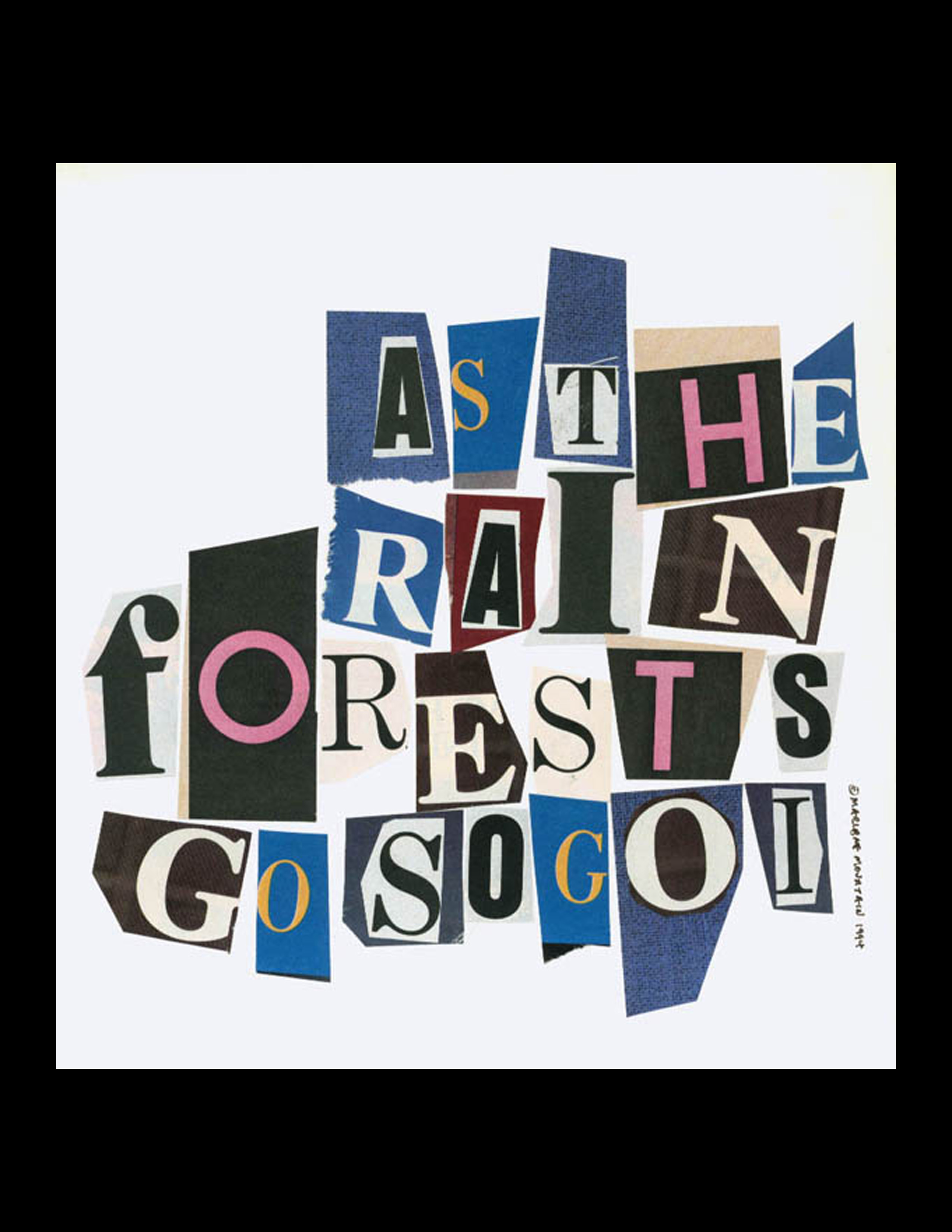 as the rain forest goes (1992)