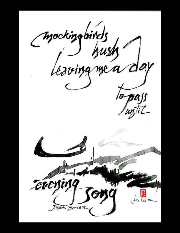 "Janelle Barrera — ""mockingbirds hush"""