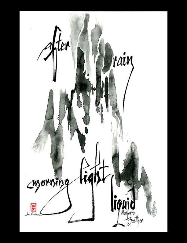 """Marjorie Buettner — """"after rain"""""""