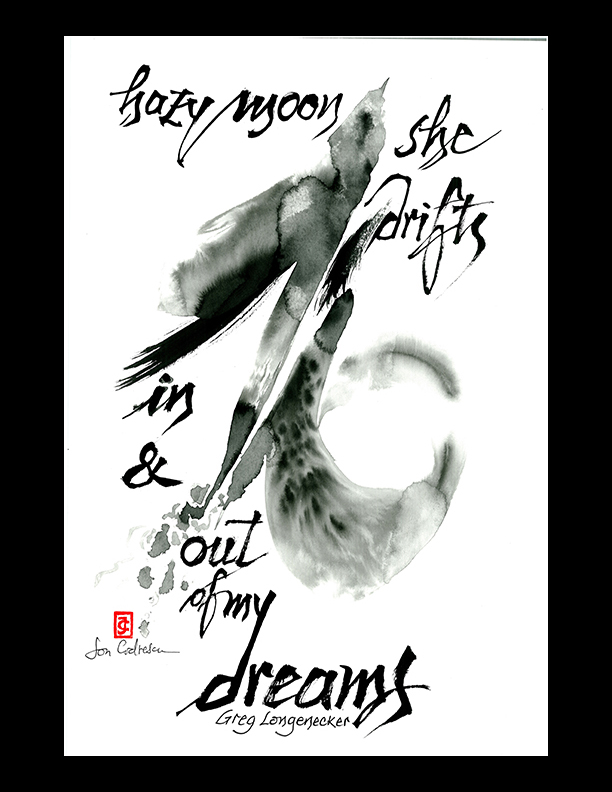"Greg Longenecker — ""hazy moon"""