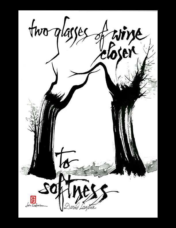 "David Lanoue — ""two glasses"""