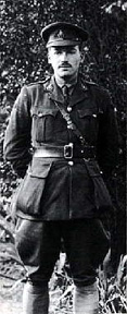 Richard Aldington. Image from Poets of the Great War
