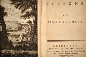 Title page to The Seasons by James Thomson