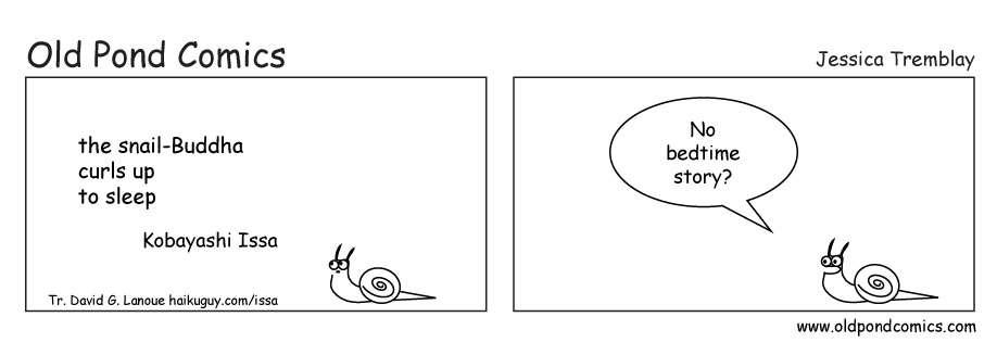 snail bedtime