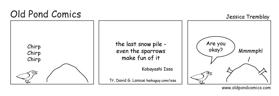 the last snowpile