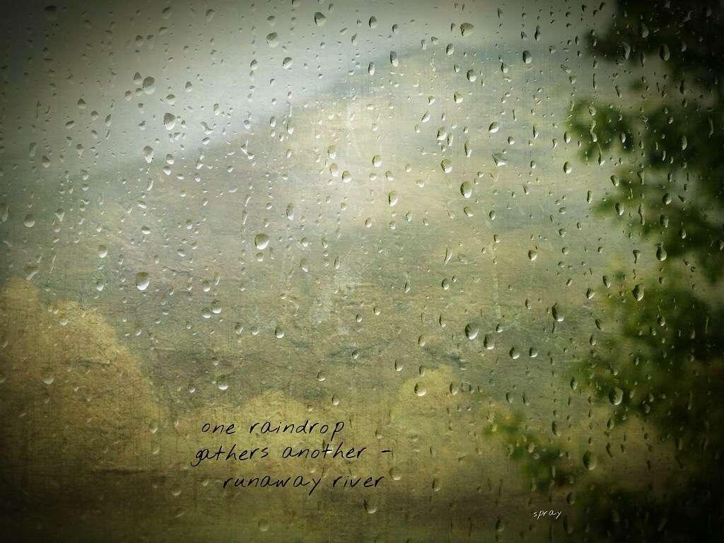 one raindrop