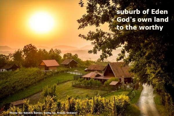 suburb of Eden